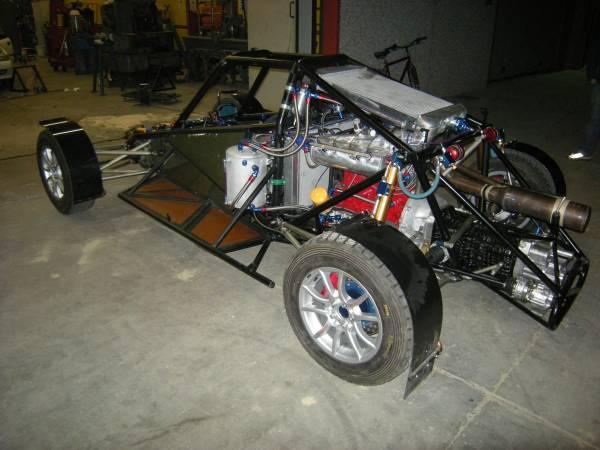 Motore Ford YB 546 HP 860Nm con cambio Sadev sequenziale
